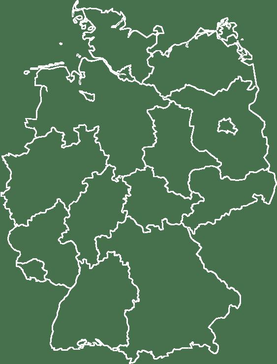 Deutschlandkarte vekt